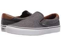 Vans Slip On 59 Denim Candl Periscope Dachshund Skate Shoes Black