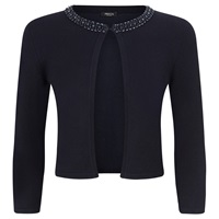 Precis Petite Beaded Cardigan Navy