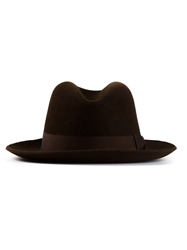 Hermes Vintage Felt Hat Brown
