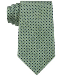 Tommy Hilfiger Micro Neat Tie Green