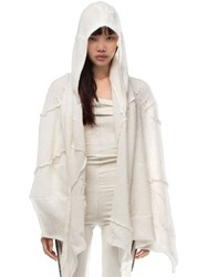 Demobaza Pineal Wool Hoody Shawl