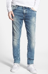 Mavi Jeans 'James' Skinny Fit Jeans Ripped Italy