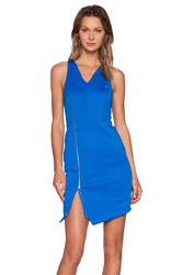 1. State V Neck Bodycon Dress Royal