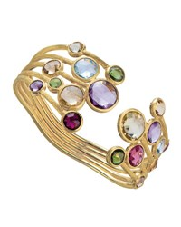 Marco Bicego Jaipur Five Row Mixed Stone Bangle Bracelet