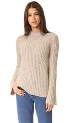 Theory Bestella Sweater Oatmeal