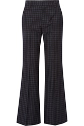 Marc Jacobs Checked Wool Wide Leg Pants