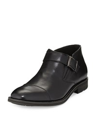 Joe's Jeans Joe's Aaron Buckle Leather Loafer Black