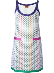 Missoni Crochet Knit Tank Dress