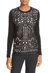 Ted Baker Women's London Anlise Lace Front Sweater