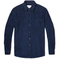 Terry Shirt Navy Terry