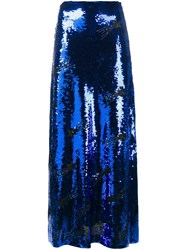 Filles A Papa 'Mila' Sequined Skirt Blue