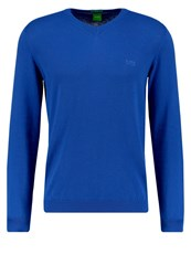 Hugo Boss Green Carlton Regular Fit Jumper Blue