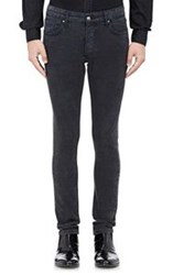 Iro French Terry Effect Jeans Black
