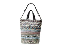 Sakroots Artist Circle Campus Tote Radiant One World Tote Handbags Multi