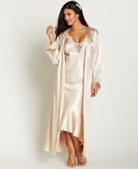 Flora By Flora Nikrooz Plus Size Stella Robe Almond