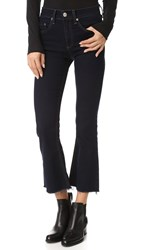 Rag And Bone Crop Flare Jeans Dune