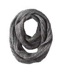 San Diego Hat Company Bss1417 Sequin Large Knit Infinity Scarf Silver Scarves