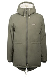 Mazine Campus Parka Dusty Olive Dark Green