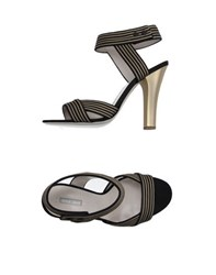 Giorgio Armani Footwear Sandals Women Black