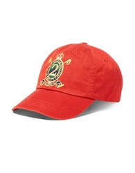 Polo Ralph Lauren Cotton Twill Sports Cap Orange