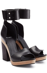 Pierre Hardy Leather Sandals With Block Heel