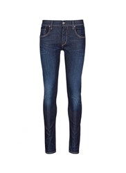 Rag And Bone 'Fit 1' Dark Wash Skinny Jeans Blue