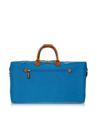 Bric's X Travel Large Foldable Last Minute Holdall In A Pouch Cornflower