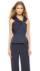 Nina Ricci Sleeveless Top Marine Fonce