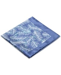 Ryan Seacrest Distinction Men's Plume Floral Print Pocket Square Only At Macy's Navy