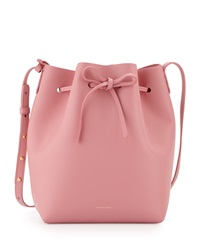 Mansur Gavriel Structured Leather Bucket Bag