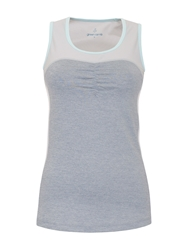 Green Lamb Racer Back Top Grey