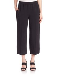 Helmut Lang Pull On Cropped Pants Black