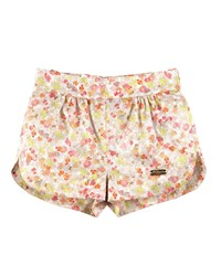 Pili Carrera Floral Poplin Dolphin Shorts Pink Green Size 6M 2 Size 12 Months