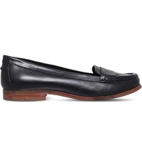 Miss Kg Mallori Leather Loafers Blk Other