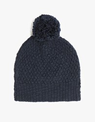 Hansel From Basel Seed Bobble Beanie Navy