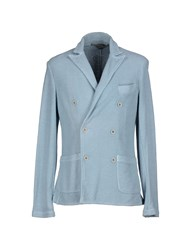 Myths Suits And Jackets Blazers Men Sky Blue