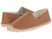 Soludos Original Leather Tan Men's Slip On Shoes