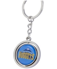 Aminco Denver Nuggets Spinning Keychain Silver Team Color