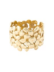Natasha Collis 18Kt Yellow Gold Cobbled Ring