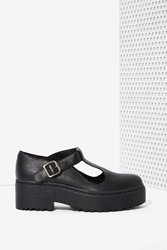 Nasty Gal Jeffrey Campbell Teleri Leather Mary Janes