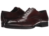 To Boot Justin Brown Men's Lace Up Cap Toe Shoes