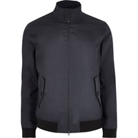 Only And Sons River Island Mens Navy Harrington Jacket