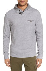 Billy Reid Men's 'Shiloh' Shawl Collar Sweatshirt Charcoal