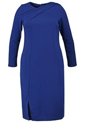 Eloquii Jersey Dress Ink Royal Blue