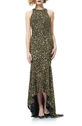 Theia Women's Sequin Mermaid Gown