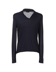 Allegri Knitwear Jumpers Men Dark Blue