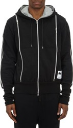 Final Home Multi Zip Vent Hoodie Black
