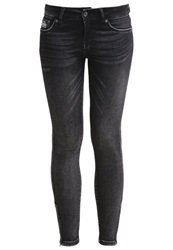 Superdry Slim Fit Jeans Pure Black Black Denim