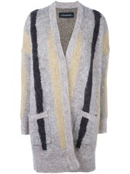 By Malene Birger Patch Pocket Cardigan Nude And Neutrals