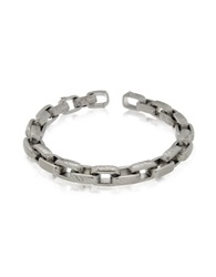 Zoppini Zo Chain Stainless Steel Link Bracelet Silver